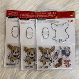 Office - Clear stamps & dies